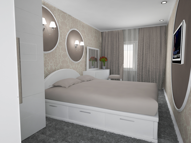 Дизайн спальни 12 м фото