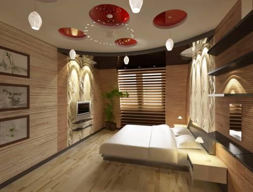 Фото дизайн потолков спальни