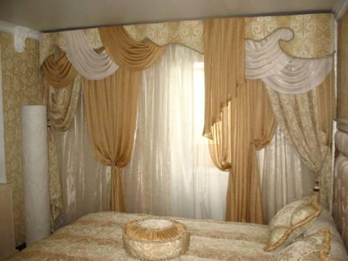 Тюль своими руками для спальни фото фото 879