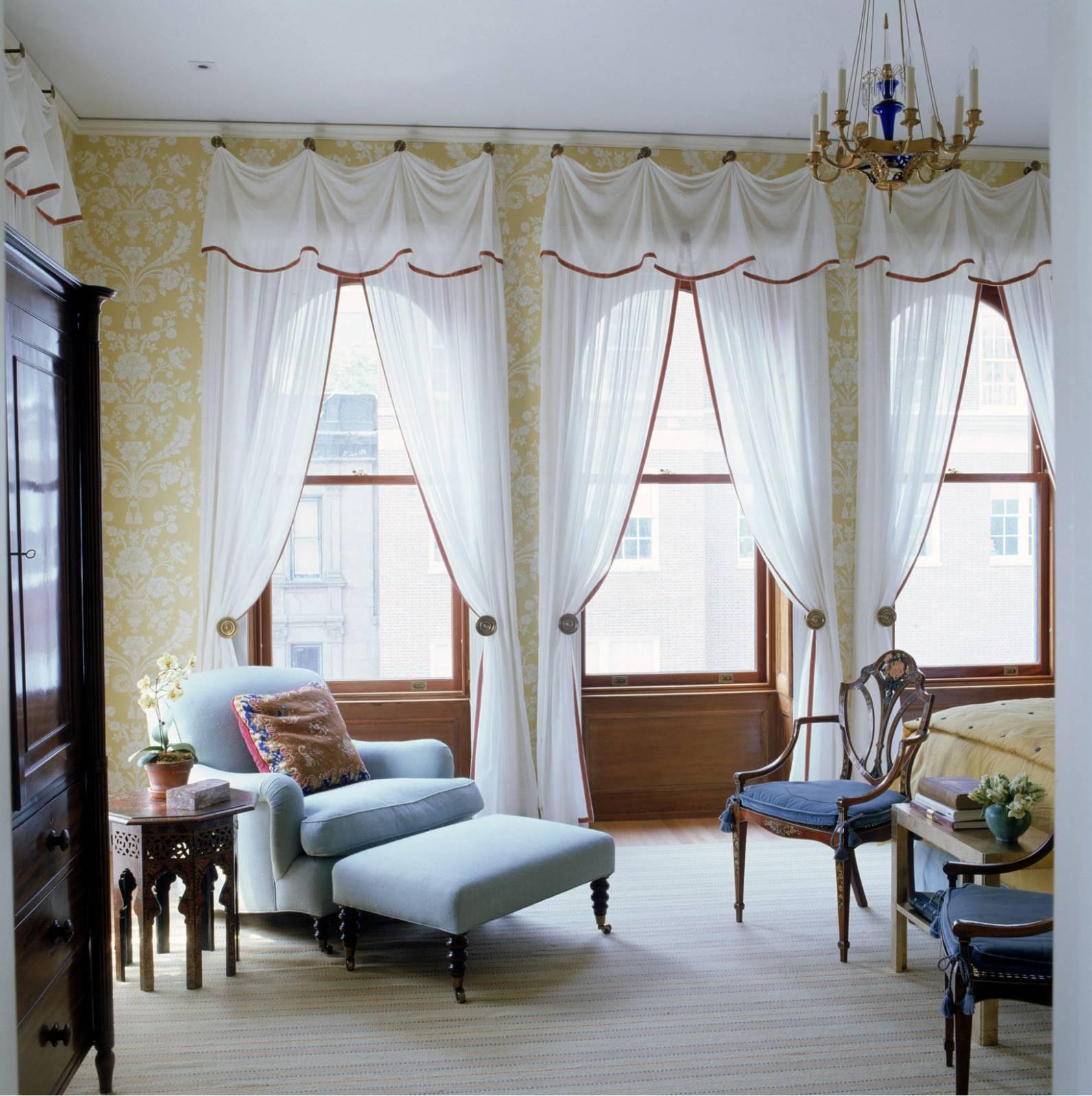 Ламбрекены для спальни фото дизайн 2016-2017 года