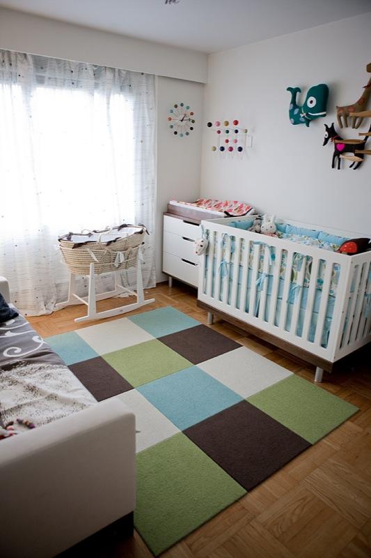 Спальня совмещенная с детской фото